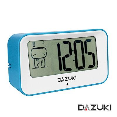 DAZUKI 多功能電子心情鬧鐘 LA-102清新藍