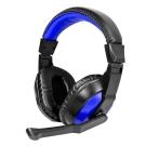 KINYO 頭戴式立體聲耳機麥克風EM3653