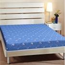艾維斯 鬱金香印花護背式冬夏兩用彈簧床墊-雙人加大6尺