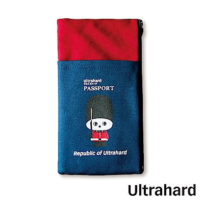 Ultrahard 月見兔手機袋/Plus-小騎兵(紅藍)