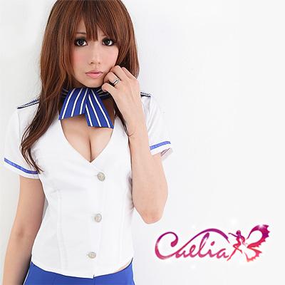 【Caelia】愛情頭等艙!俏麗空姐三件組