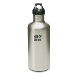美國Klean Kanteen不鏽鋼瓶1182ml-原鋼色