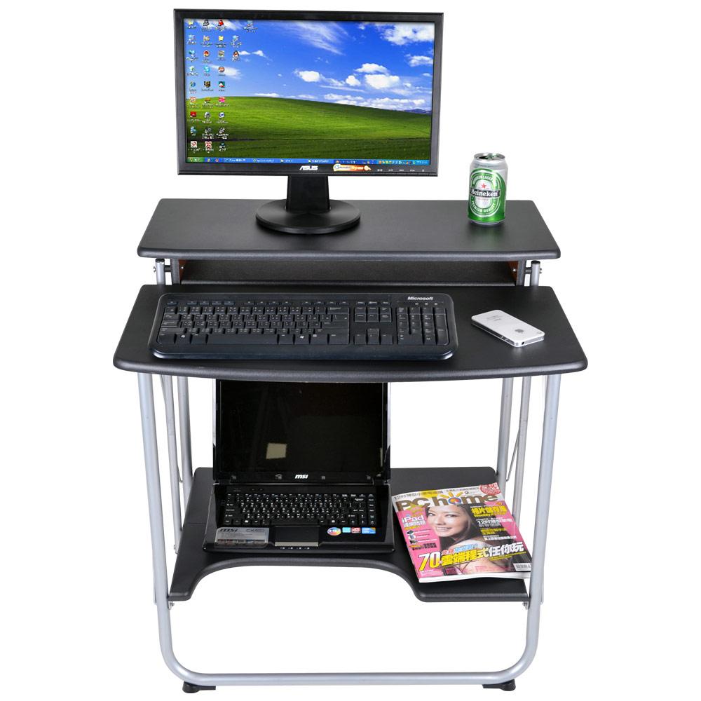 哇沙米 時尚玩家智慧型可收納電腦桌(二色)