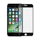 【SHOWHAN】iPhone6/6s 2.5D電競級霧面滿版滿膠鋼化玻璃貼 黑色