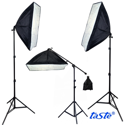 Taste恆亮光源標準色溫雙燈組(TA-450)