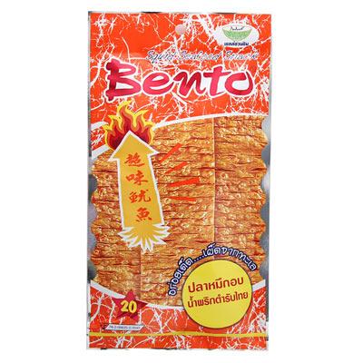 殷茂-泰式碳烤麻辣香魷片-24gx5包
