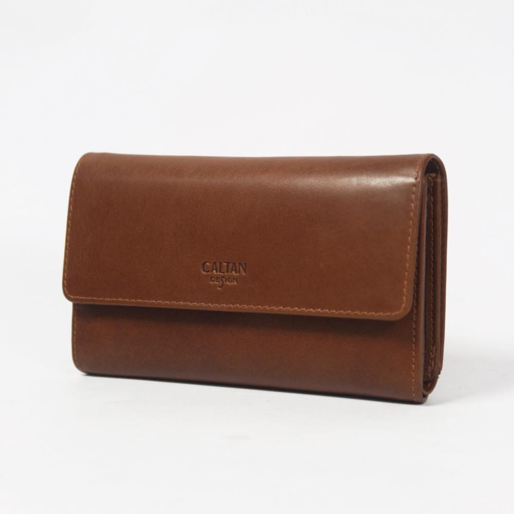CALTAN-女用長夾 10個以上夾層 大容量  風琴式零錢袋 必備單品-071947cd