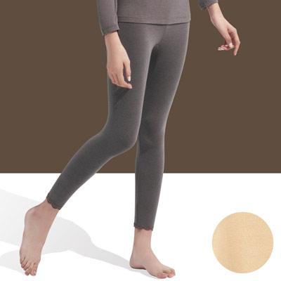 【華歌爾】中空保暖M-LL內搭8分褲(柔嫩膚)