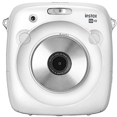 拍立得 FUJIFILM instax SQUARE SQ10 方形相機(公司貨)-白色