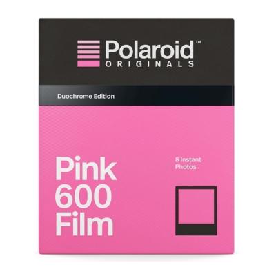 Polaroid Pink Film for 600 粉色底片(黑框)/2盒