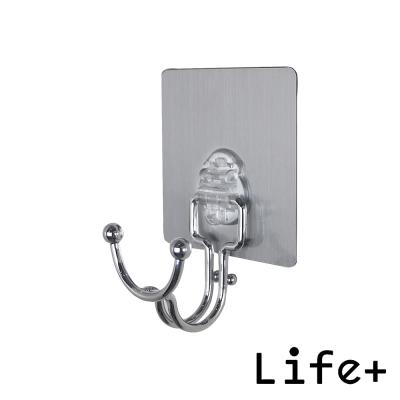 Life Plus 環保無痕魔力貼掛勾-蝸牛掛勾架 (2入組)