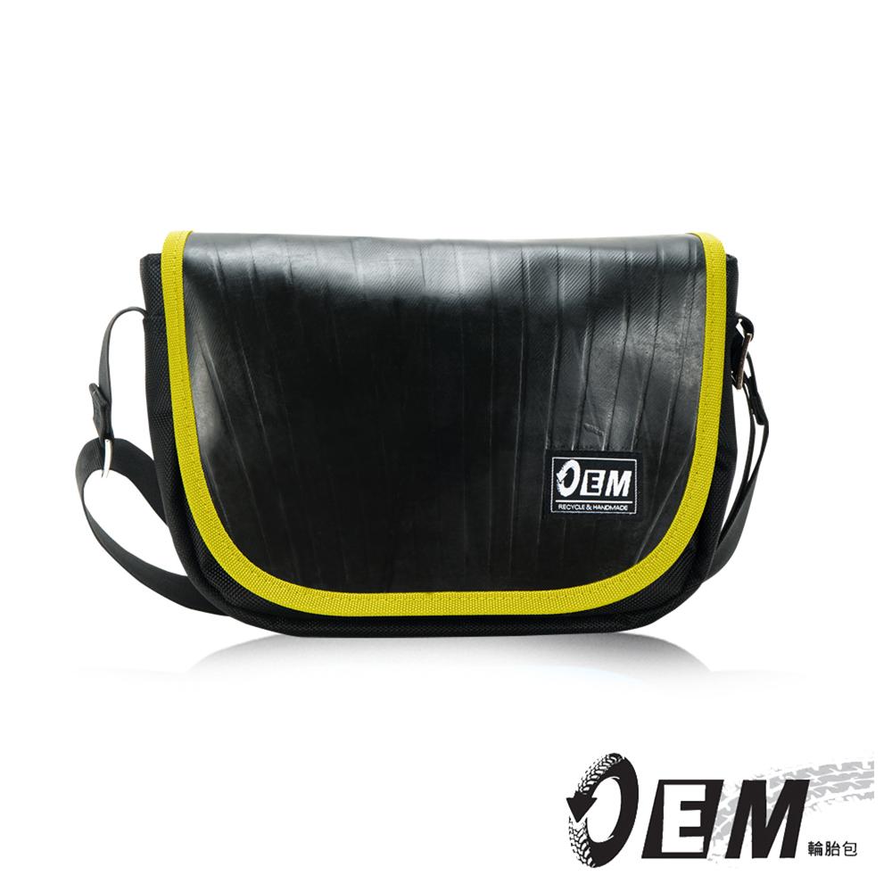 OEM - 製包工藝革命 低調簡約個性半月型減碳休閒包- 黃色