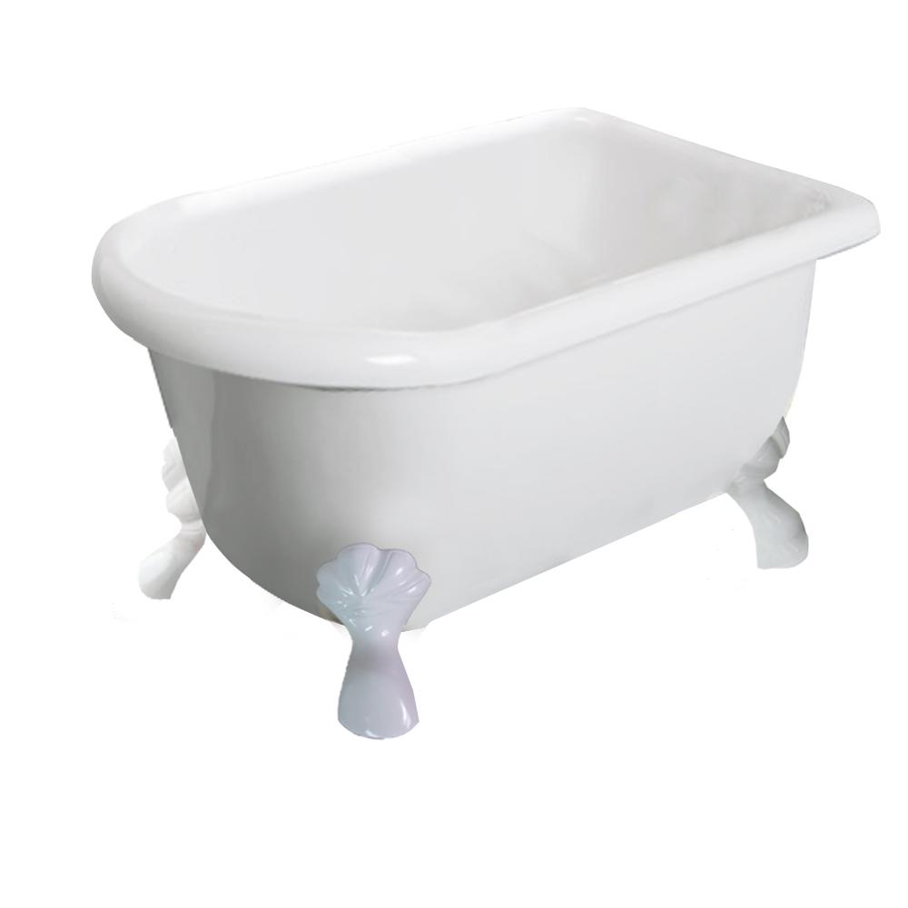 【I-Bath Tub精品浴缸】伊莉莎白-典雅白(100cm)