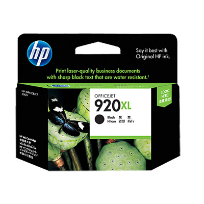 HP CD975AA 920XL 原廠高容量黑色墨水匣
