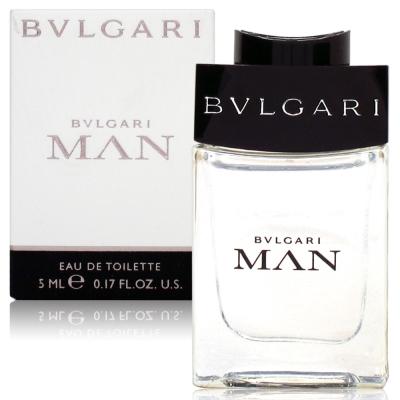 BVLGARI寶格麗 當代男性淡香水5ml