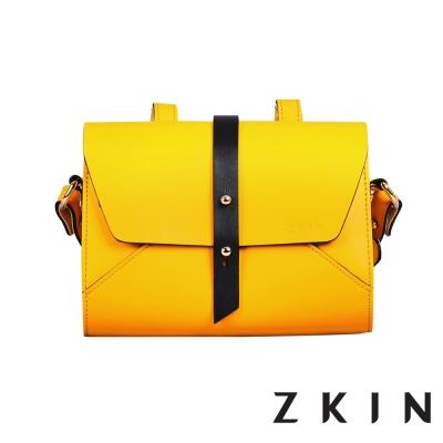 ZKIN Retro Harpy 經典復古單肩相機包(檸檬黃)