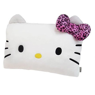 Hello-Kitty-豹紋系列-頭型抱枕