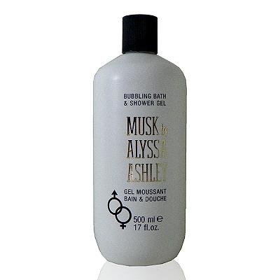 Alyssa Ashley Musk Shower Gel 白麝香沐浴精500ml 無外盒