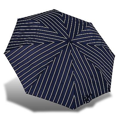 RAINSTORY英倫風尚條抗UV隨身自動傘
