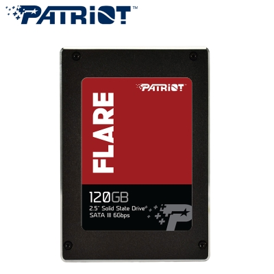 Patriot美商博帝 FLARE 120G MLC 2.5吋 SSD固態硬碟
