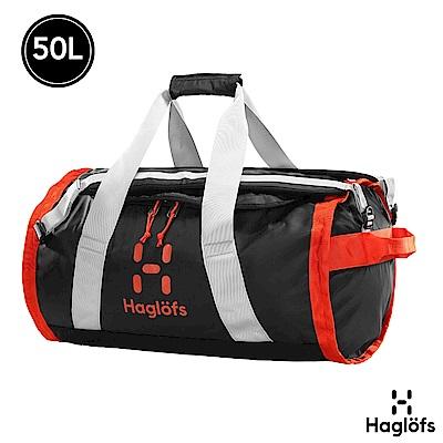 Haglofs Lava 50L  防潑水 可折疊旅行裝備袋 後背包 黑