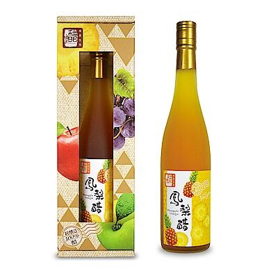 醋桶子 單入果醋禮盒組-鳳梨醋(600ml/瓶)