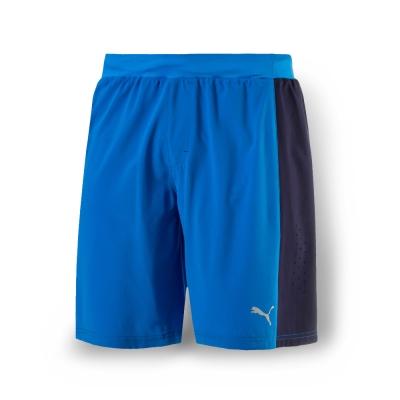 PUMA 男性慢跑系列PWRCOOL9吋短褲-法國藍