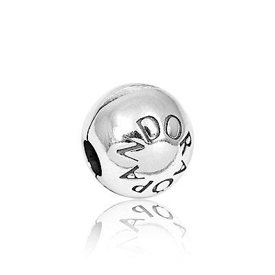 Pandora 潘朵拉 PANDORA標誌 夾扣純銀墜飾 串珠