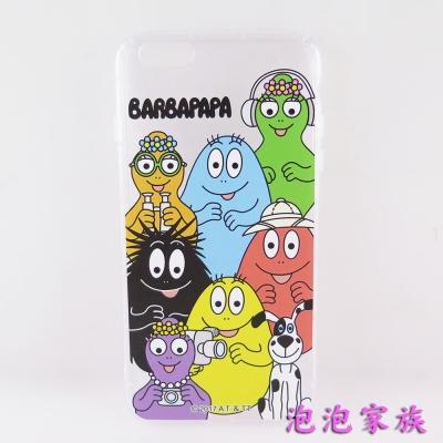 BARBAPAPA泡泡先生iPhone 6/6S(4.7吋)空壓保護套-泡泡家族