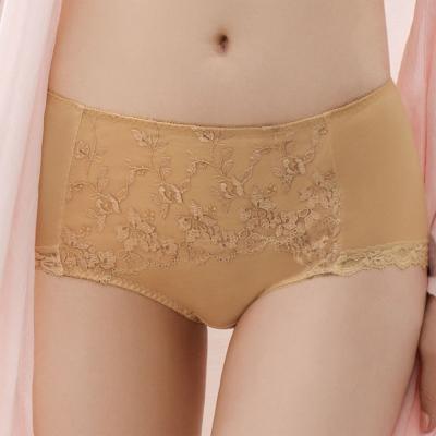 金華歌爾 完美自在M-3L 中高腰三角褲(黃金色)