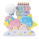 Sanrio 雙星仙子好朋友便條本與趴趴造型筆筒組