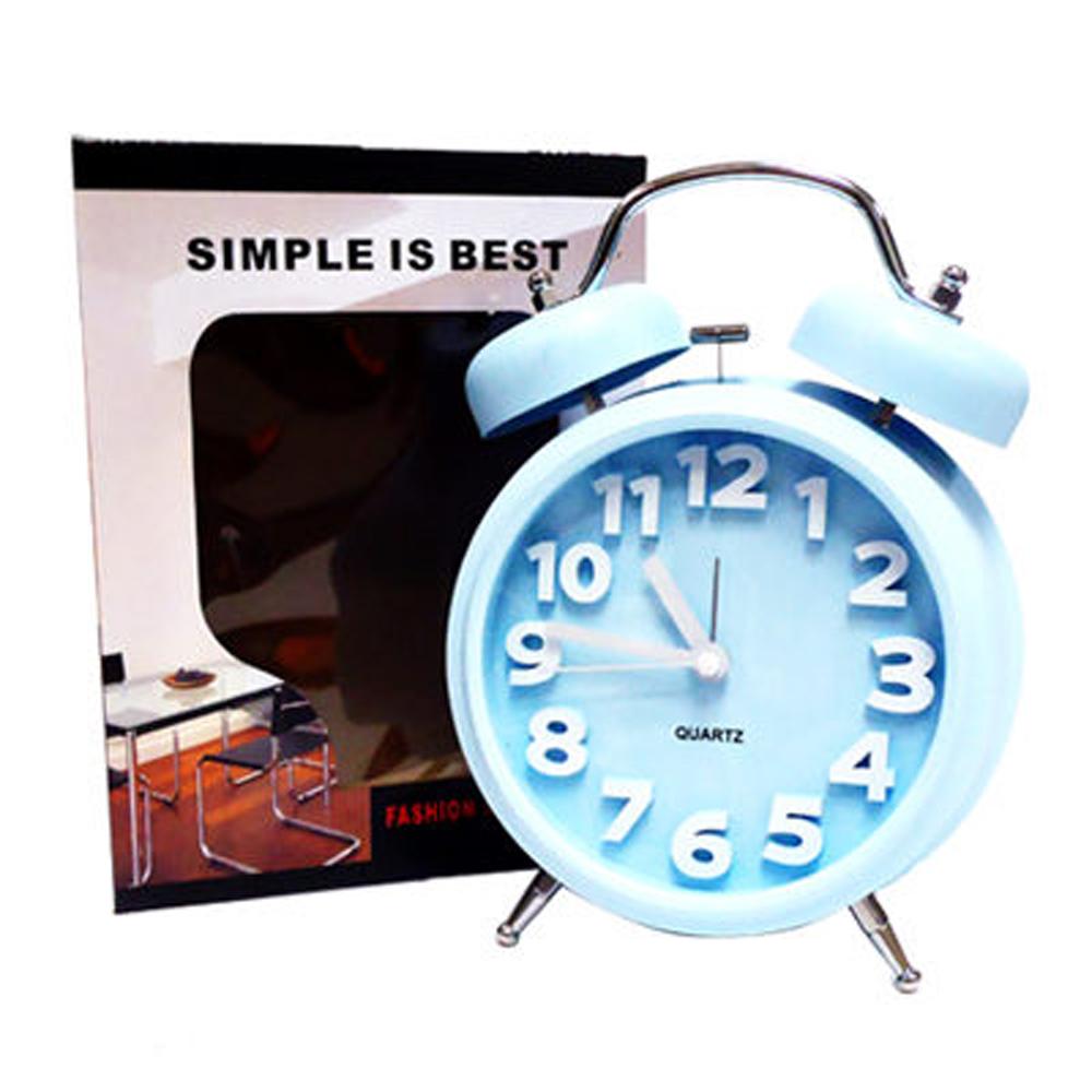 簡約造型圓鐘(水漾藍)