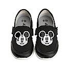 迪士尼 米奇 復古造型 休閒鞋-黑