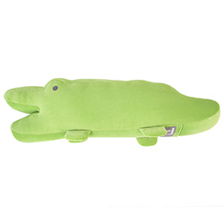 Yvonne Collection鱷魚造型長抱枕-草綠