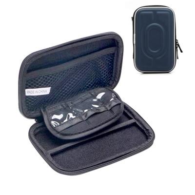 DataStone 3C多功能防震硬殼收納包(適2.5吋硬碟/行動電源//3C產品)-藍色