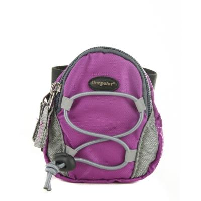 ONE POLAR 手腕隨身包-紫色 PL06065PL