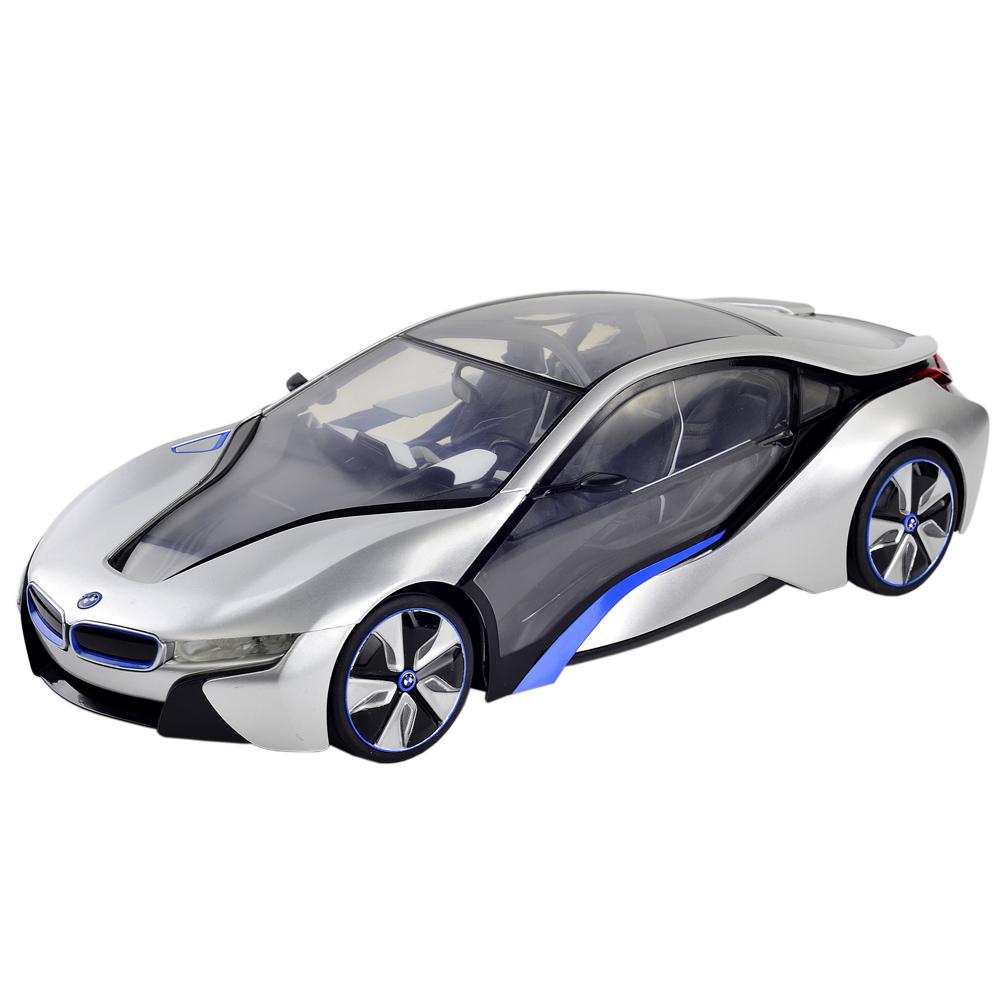 BMW i8原廠授權1:14未來概念遙控模型跑車二色可選擇