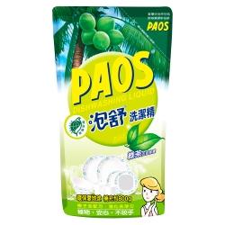 泡舒 洗潔精 綠茶去油除腥-補充包800g