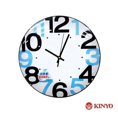KINYO 12吋時尚簡約靜音掛鐘(CL-148)