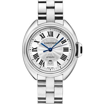 CARTIER卡地亞CLE DE CARTIER WSCL0005自動鍊帶腕錶-31mm