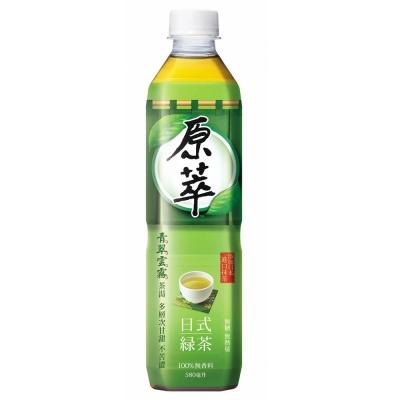 原萃-日式綠茶-寶特瓶-580mlx24入