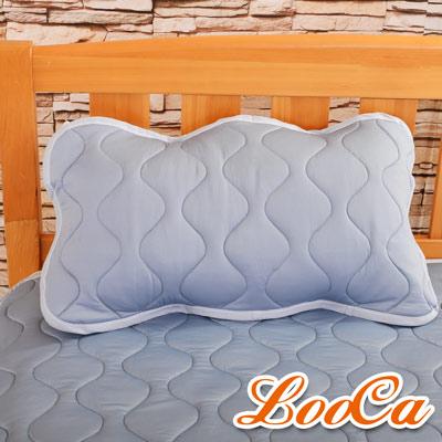 LooCa 新一代酷冰涼枕用保潔墊1入(灰)