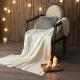MONTAGUT-針織毛線毯-白色