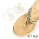 足的美形 迷你軟Q夾腳鞋防磨墊(4雙)