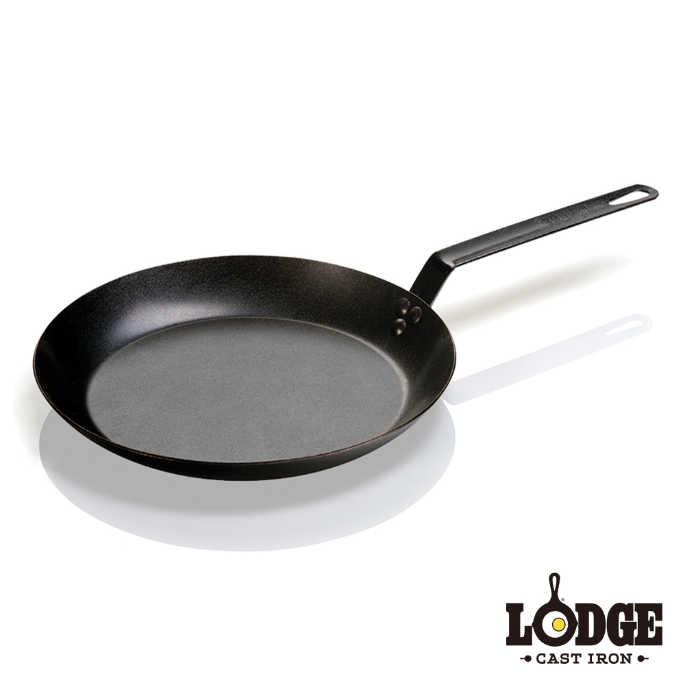 Lodge 單柄碳鋼煎鍋 30公分/12吋