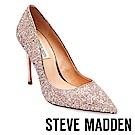 STEVE MADDEN-DAISIE 素面尖頭高跟鞋-璀璨金