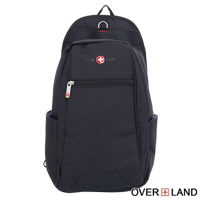 OVERLAND-美式十字軍x新譯拉鍊設計後背三用包