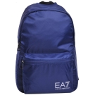 EMPORIO ARMANI EA7 品牌圖騰LOGO尼龍後背包(深藍)