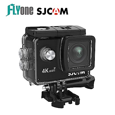 FLYone SJCAM SJ4000 AIR 4K WIFI 行車記錄器-自