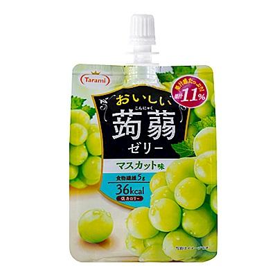 TARAMI達樂美 吸吸果凍-白葡萄口味(150g)